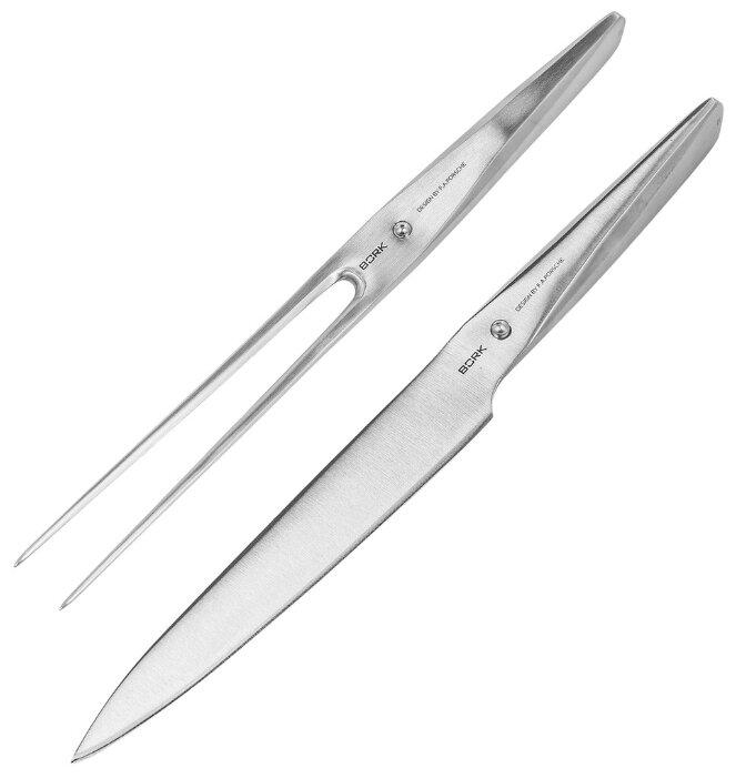 BORK Нож для мяса с вилкой HN574 19 см