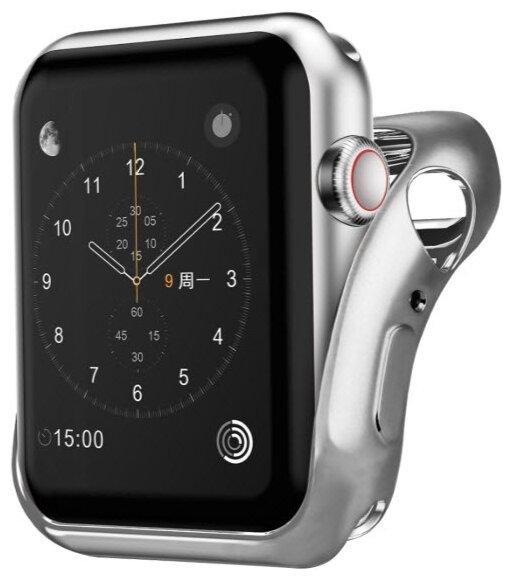 Чехол INTERSTEP Спортивный, силикон для Apple Watch 38mm