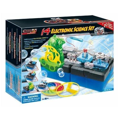 Электромеханический конструктор Amazing Toys Connex 38914 Электроника 14 опытов amazing machines amazing aeroplanes activity book