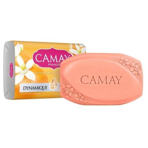 Мыло кусковое Camay Dynamique Grapefruit с ароматом розового грейпфрута, 85 гМыло<br>