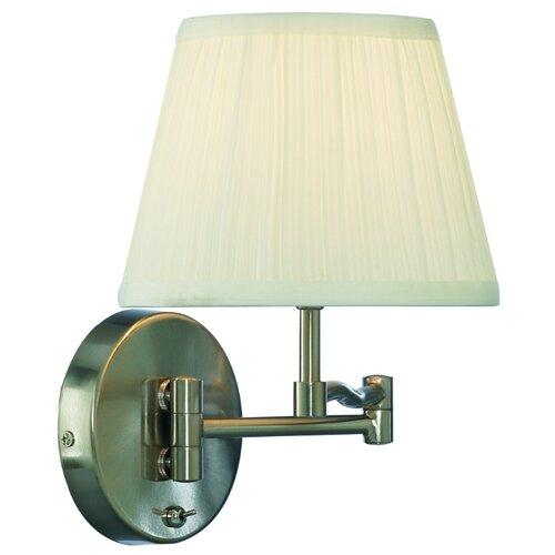 Бра Arte Lamp California A2872AP-1SS, с выключателем, 60 Вт бра arte lamp a2872ap 1ab california