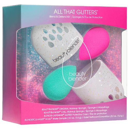 Набор аксессуаров beautyblender All That Glitters розовый/голубой/белый набор jin jia tai 870 розовый голубой белый