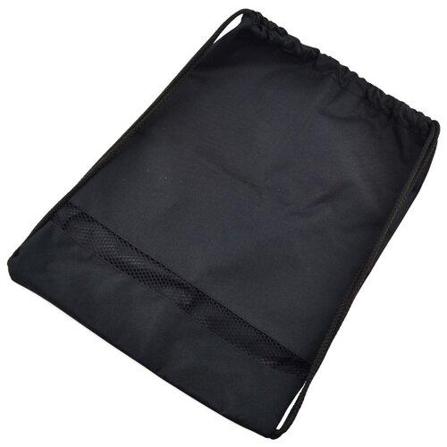 BG Мешок для обуви с сеточкой, 34х45 см черныйМешки для обуви и формы<br>