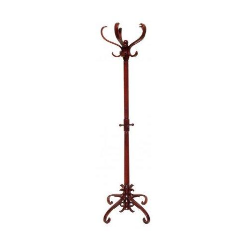 Напольная вешалка Мебелик В-2Н темно-коричневый напольная вешалка мебелик в 12н темно коричневый