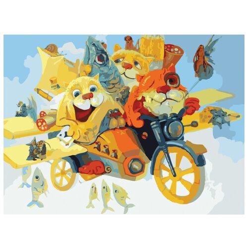 Купить Белоснежка Картина по номерам Котолет 30х40 см (077-AS), Картины по номерам и контурам