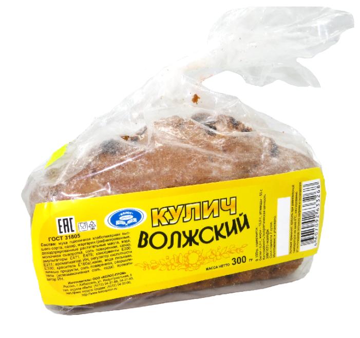 Кулич Колос-Пром Волжский 300 г