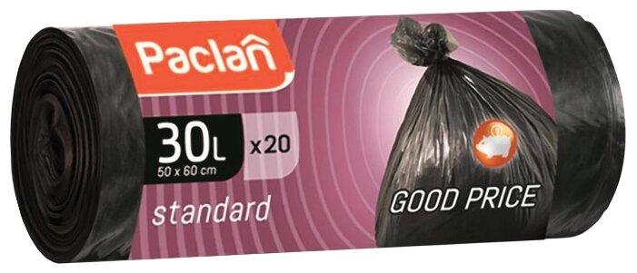 Мешки для мусора Paclan 30 л (20 шт.)