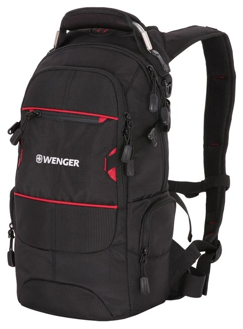 Рюкзак WENGER Narrow Hiking Pack 22 black/red
