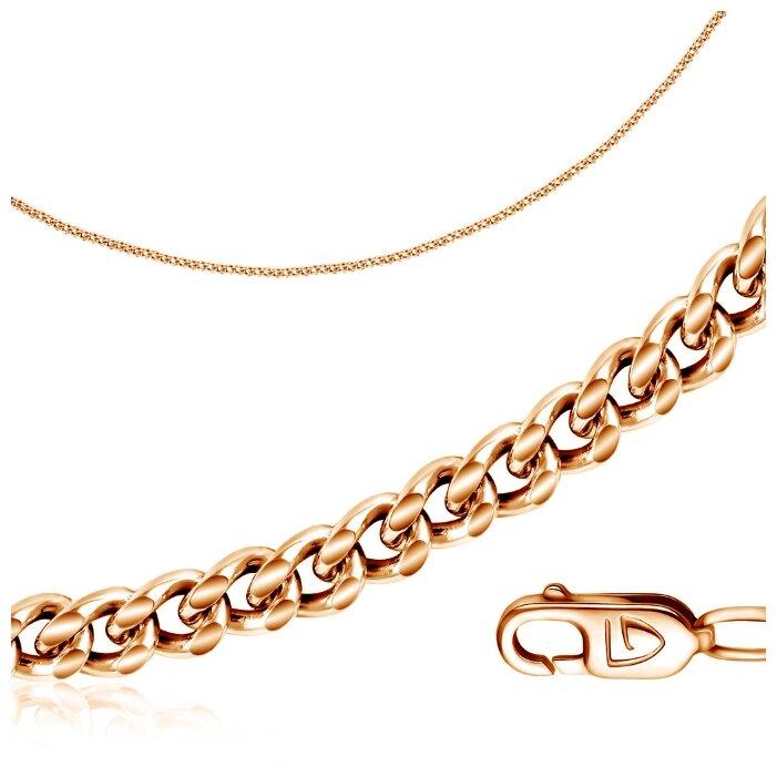 Бронницкий Ювелир Цепь из красного золота R00500501, 60 см, 3.7 г