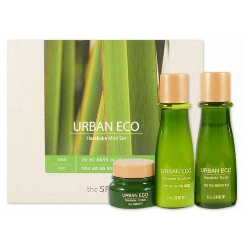 Набор The Saem Urban Eco Harakeke Mini 3 Set the saem набор для лица urban eco harakeke
