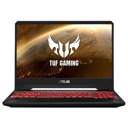 Ноутбук ASUS TUF Gaming FX505DY-BQ024 (AMD Ryzen 5 3550H 2100 MHz/15.6/1920x1080/8GB/512GB SSD/DVD нет/AMD Radeon RX 560X/Wi-Fi/Bluetooth/Без ОС) черныйНоутбуки<br>
