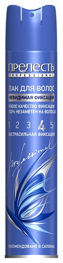 Купить Прелесть Professional Лак для волос Невидимая фиксация, экстрасильная фиксация, 300 мл по низкой цене с доставкой из Яндекс.Маркета (бывший Беру)
