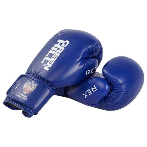 Боксерские перчатки Green hill Rex (BGR-2272) синий 12 oz