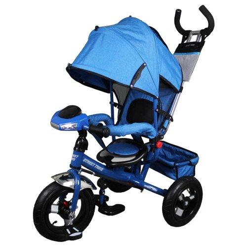 Купить Трехколесный велосипед Street trike A22-1D, синий, Трехколесные велосипеды