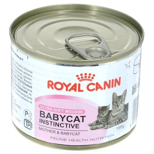 Корм для котят Royal Canin Instinctive 195 г (паштет) cat wet food royal canin ultra light pieces in jelly 24 85 g cat wet food royal canin aging 12 pieces in jelly 85 g 24