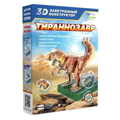 Электронный конструктор ND Play 3D 277385 Тираннозавр конструктор nd play nd play mp002xu02g3a