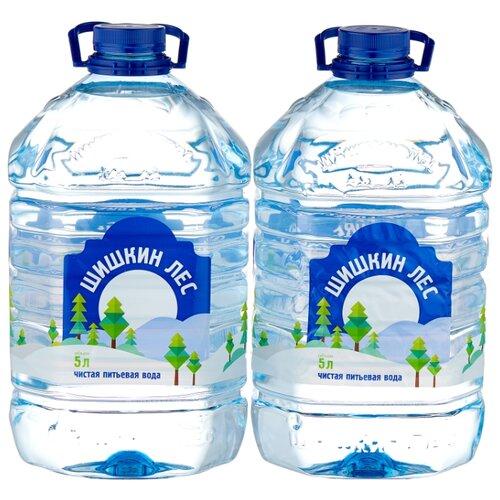 Питьевая вода Шишкин лес негазированная, ПЭТ, 2 шт. по 5 л истэль вода талая негазированная 12 шт по 0 5 л