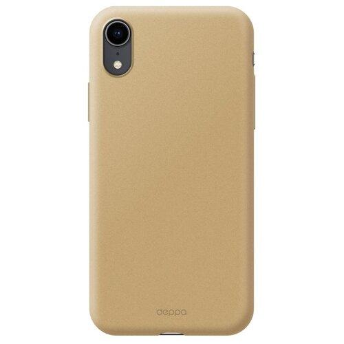 Фото - Чехол-накладка Deppa Air Case для Apple iPhone Xr золотой чехол deppa air case для apple iphone x xs золотой 83322