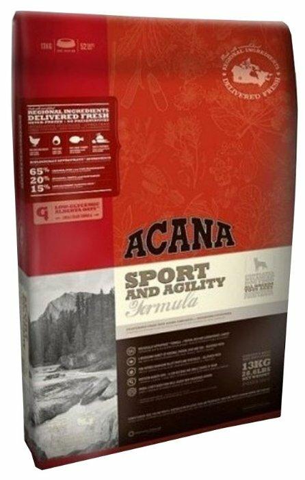 Корм для собак Acana Classics Sport & Agility для активных животных 13 кг