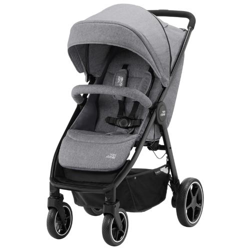 Прогулочная коляска BRITAX ROMER B-Agile M elephant grey коляска britax детская прогулочная коляска britax b agile 4 plus с капором sand beige