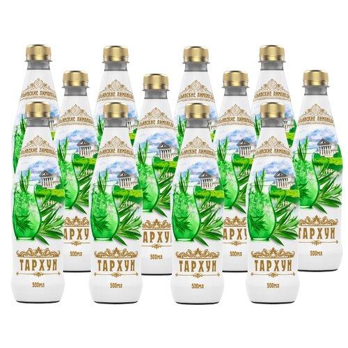 Газированный напиток Ильинские лимонады Тархун, 0.5 л, 12 шт.