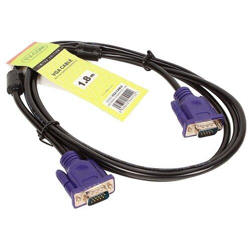 Купить Кабель TV-COM SVGA - SVGA (QCG120H) 1.8 м черный