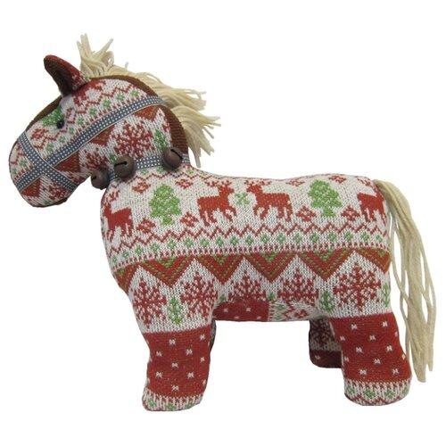 цена на Мягкая игрушка Snowmen Лошадь коричневая 29 см