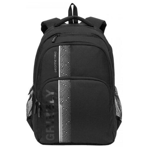Купить Grizzly Рюкзак (RU-934-5), черный/серый, Рюкзаки, ранцы