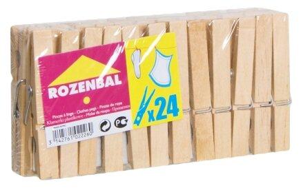 ROZENBAL прищепки деревянные 24 шт.
