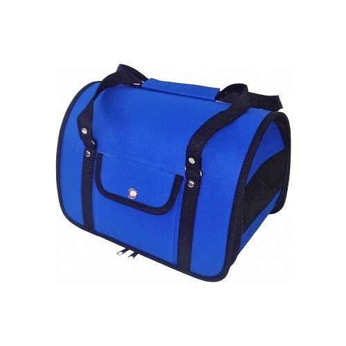 Сумка-переноска для кошек и собак LOORI Z8456 31х20х22 см синий