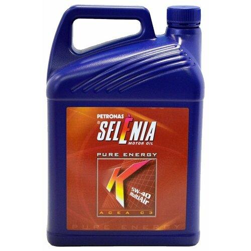 Синтетическое моторное масло Selenia K Pure Energy 5W-40, 5 л по цене 2 971