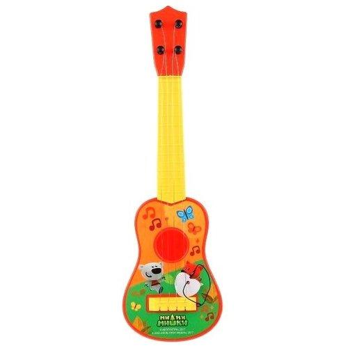Купить Играем вместе гитара B1406954-R2 желтый/красный/зеленый, Детские музыкальные инструменты