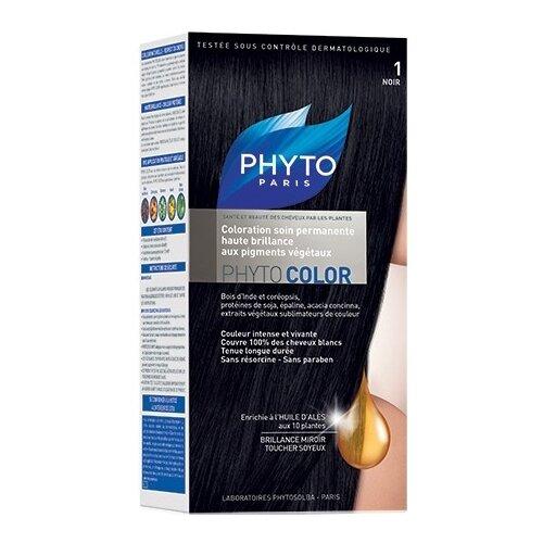 PHYTO Phytocolor краска для волос, 1 черный phyto для волос официальный сайт