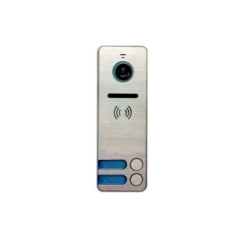 Вызывная (звонковая) панель на дверь TANTOS iPanel 2 Металл 2 абонента видеодомофон tantos loki