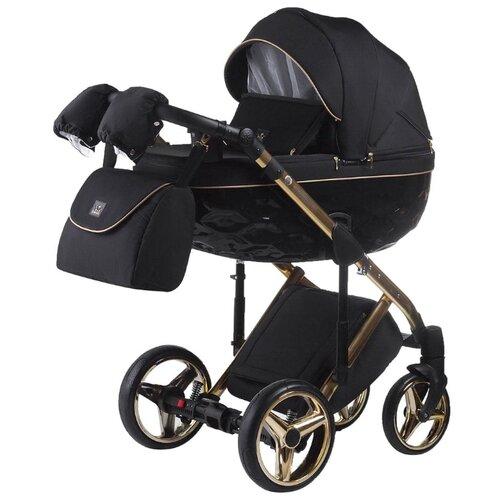Универсальная коляска Adamex Chantal Special Edition/Polar (2 в 1) C1 A gold
