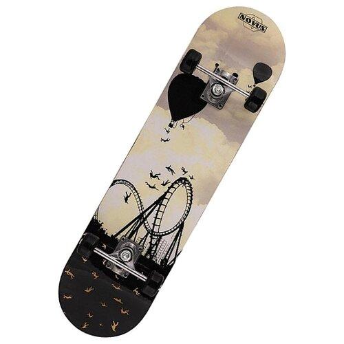 Скейтборд Novus NSB-19.06 серый/черный