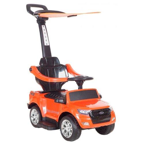 Купить Каталка-толокар Shanghai RXL Ford Ranger C крашеный оранжевый, Каталки и качалки