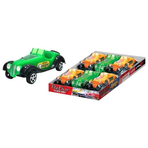Драже Конфитрейд Автодром с игрушкой Ретро-автомобиль, 5 г шоколадное яйцо с игрушкой конфитрейд шоки токи disney тачки 20 г