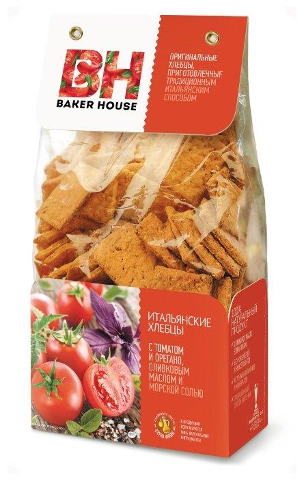 Итальянские хлебцы Baker House с томатом и орегано 250г