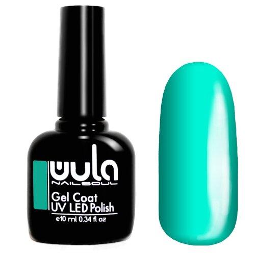 Гель-лак для ногтей WULA Gel Coat, 10 мл, оттенок 379 голубая бирюза гель лак для ногтей wula gel coat 10 мл оттенок 367 серо зеленый