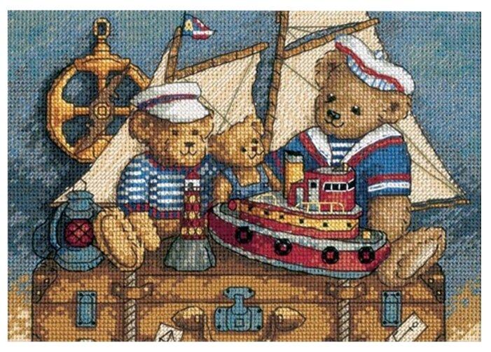 Dimensions Набор для вышивания Ahoy! Bears (Мишки,