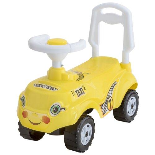 Купить Каталка-толокар Orion Toys Микрокар (157) со звуковыми эффектами лимон, Каталки и качалки