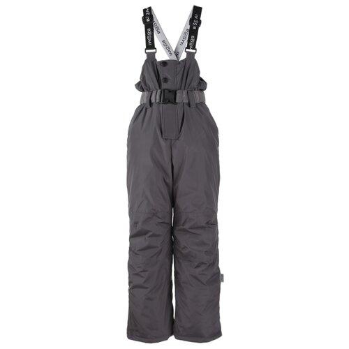 Купить Полукомбинезон BOOM! by Orby 90580_BOB размер 86, серый, Полукомбинезоны и брюки