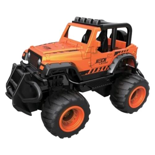 Купить Внедорожник Пламенный мотор Трофи Хищник (870325) 14 см оранжевый/черный, Радиоуправляемые игрушки