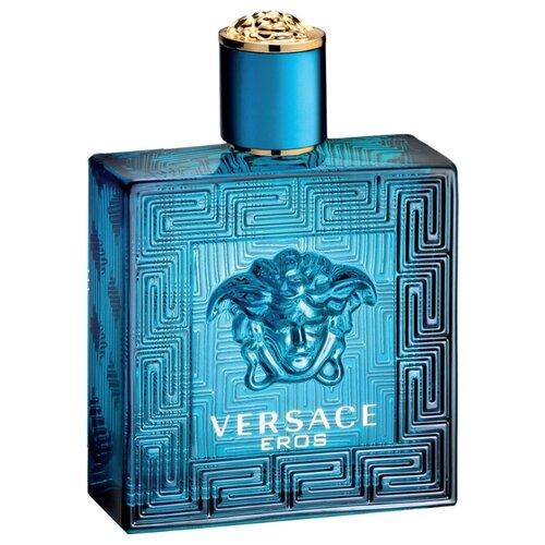 Туалетная вода Versace Eros pour Homme, 50 мл туалетная вода versace eros 100 мл мужская