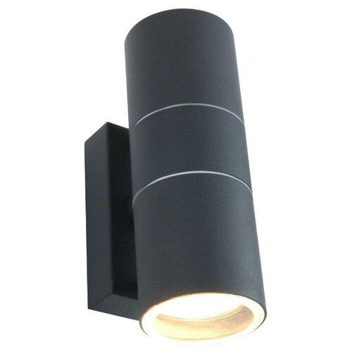 Arte Lamp Уличный настенный светильник Mistero grigio A3302AL-2GY уличный светильник arte lamp a3302al 1bk