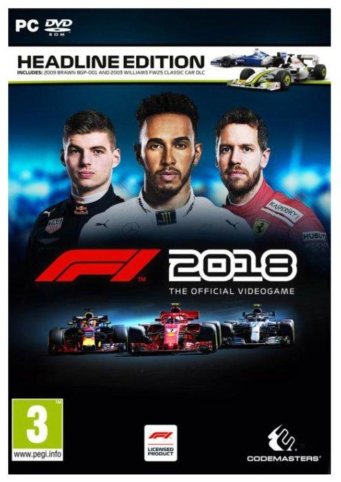 Codemasters F1 2018: Headline Edition
