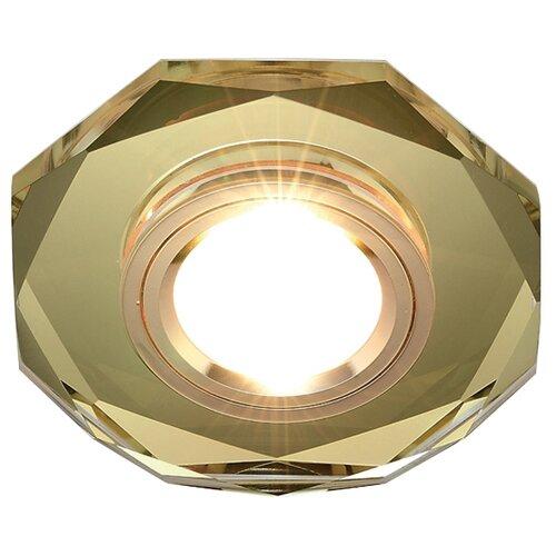Встраиваемый светильник Ambrella light 8020 GOLD, золотоВстраиваемые светильники<br>