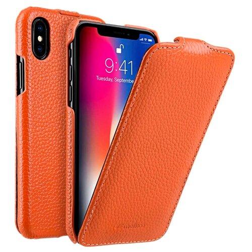 Купить Чехол Melkco Jacka Type для Apple iPhone X/Xs оранжевый