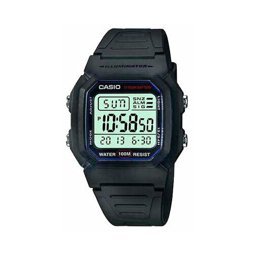 Наручные часы CASIO W-800H-1A casio w 753d 1a